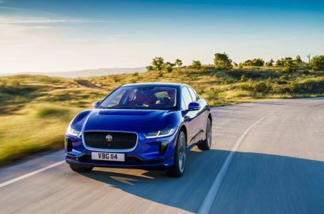 Старт продаж Jaguar I-PACE в России