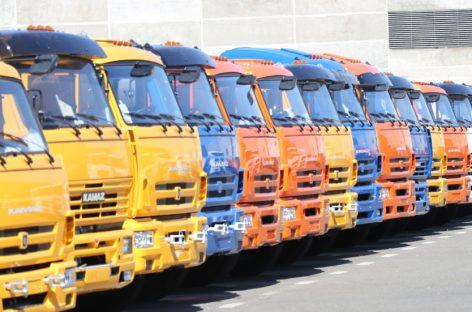 ТОП-10 регионов РФ по объему рынка новых грузовиков