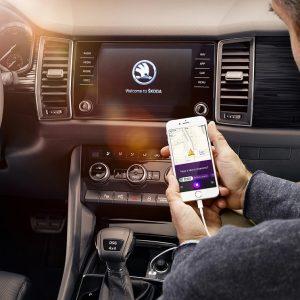 Представлен виртуальный ассистент Škoda Family