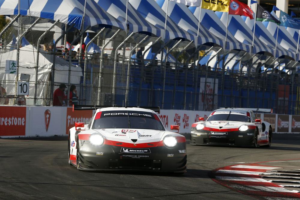 Porsche вновь участвует в Ле-Мане