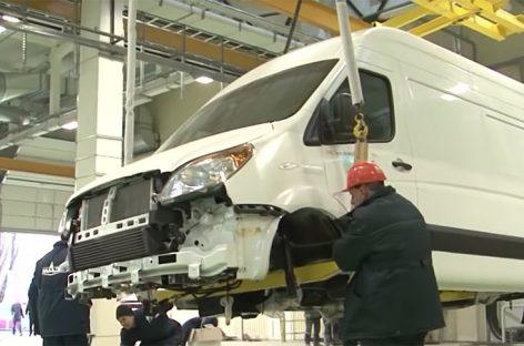 В Бресте запущено производство микроавтобусов и фургонов МАЗ