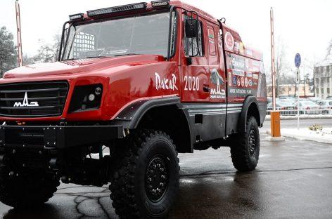 Представлен первый спортивный капотный грузовик МАЗ