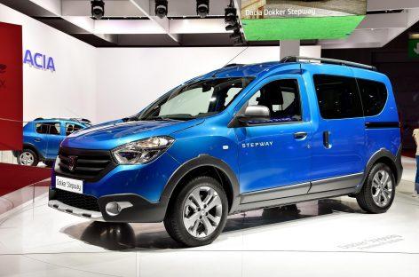Renault представила модель Dokker Stepway