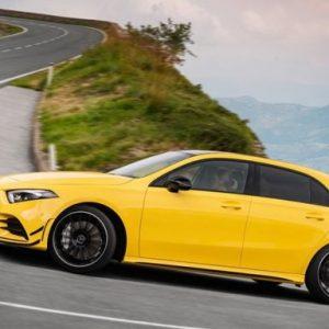 Mercedes-AMG A45 проходит тесты в дрифт-режиме