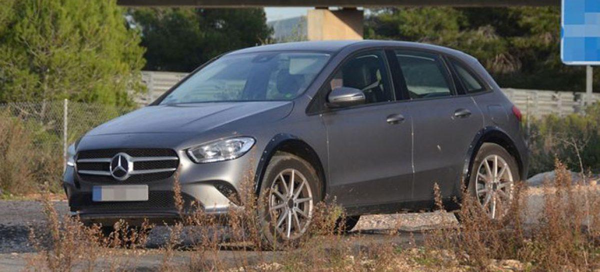 Mercedes-Benz EQB ожидается к 2020 году
