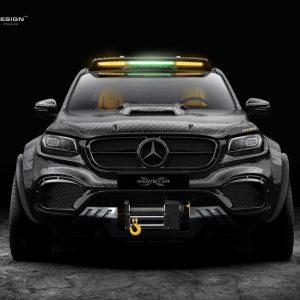 Концепт трехосного Mercedes-Benz X-Class от Carlex