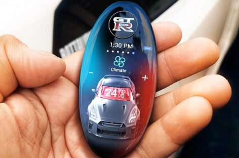 Nissan разработал для GT-R интеллектуальный ключ