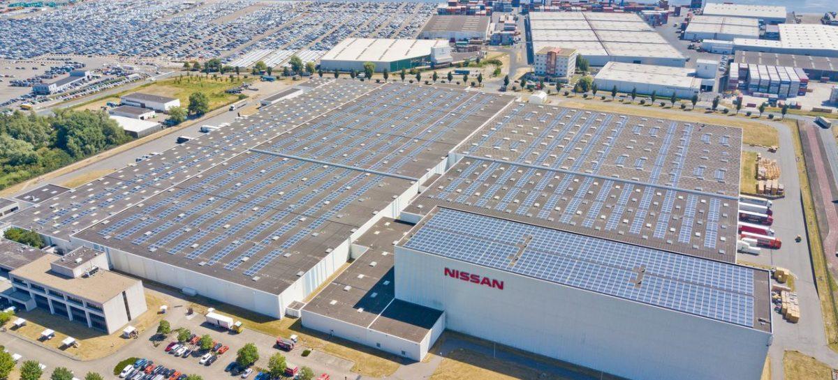 Самая крупная крыша с солнечными батареями заработала на предприятии Nissan в Нидерландах