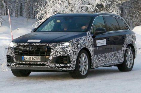 Шпионские фото нового Audi Q7