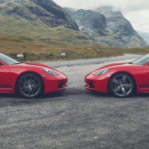 Porsche Boxster T и Cayman T упростились ради спорта