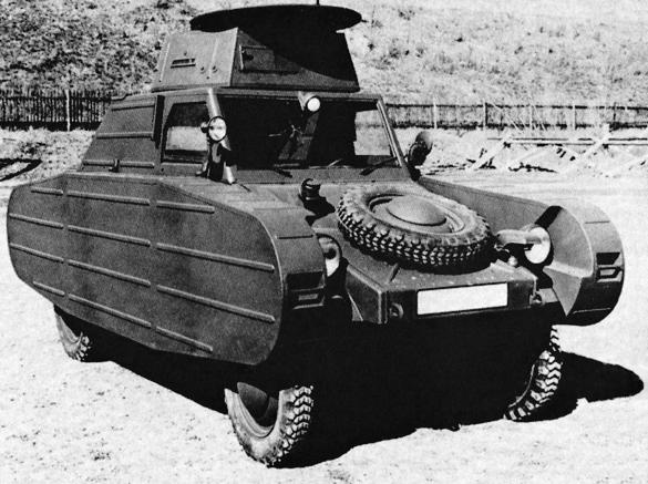 Porsche Typ 823 Panzer Atrappe 1941