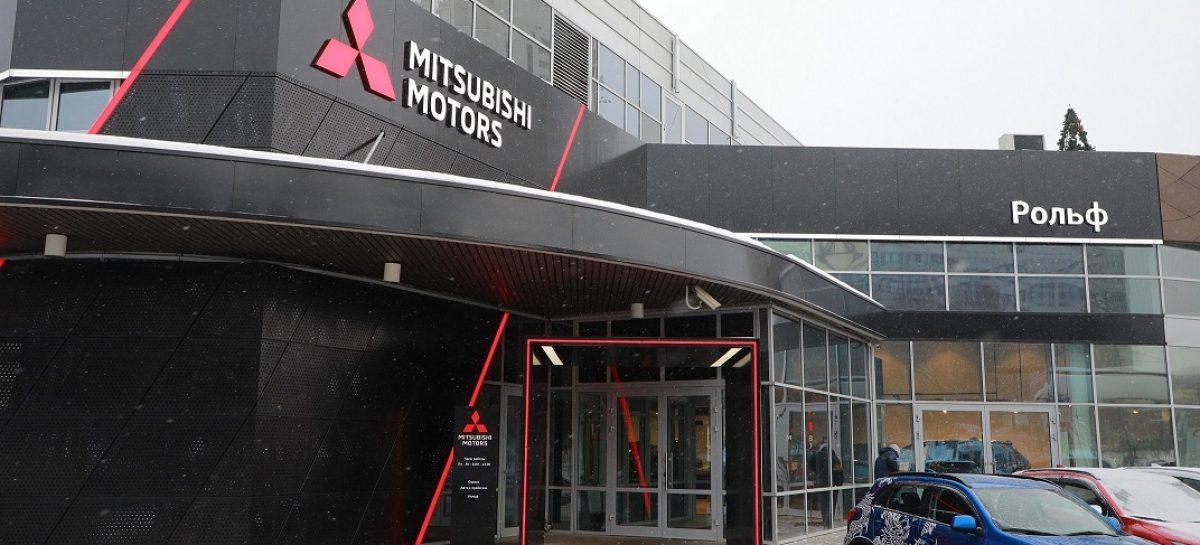 Дилерский центр Mitsubishi Рольф Юг оформлен в новом дизайне