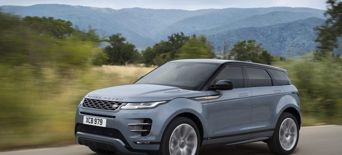 Анонсированы цены на новый Range Rover Evoque