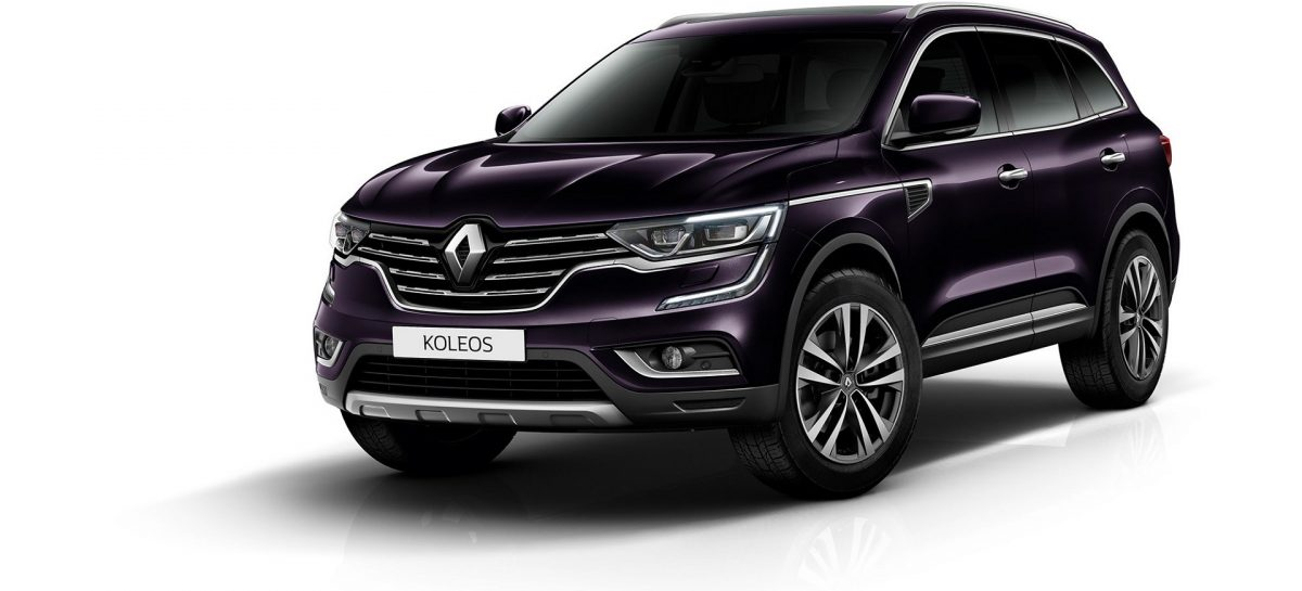 Новая комплектация Comfort для Renault Koleos