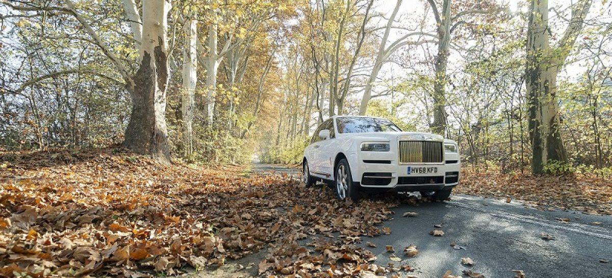 Rolls-Royce Cullinan уже в России