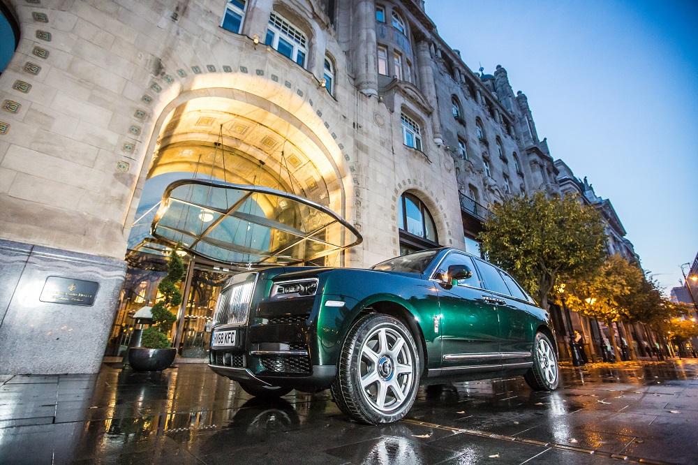Rolls-Royce Cullinan в России