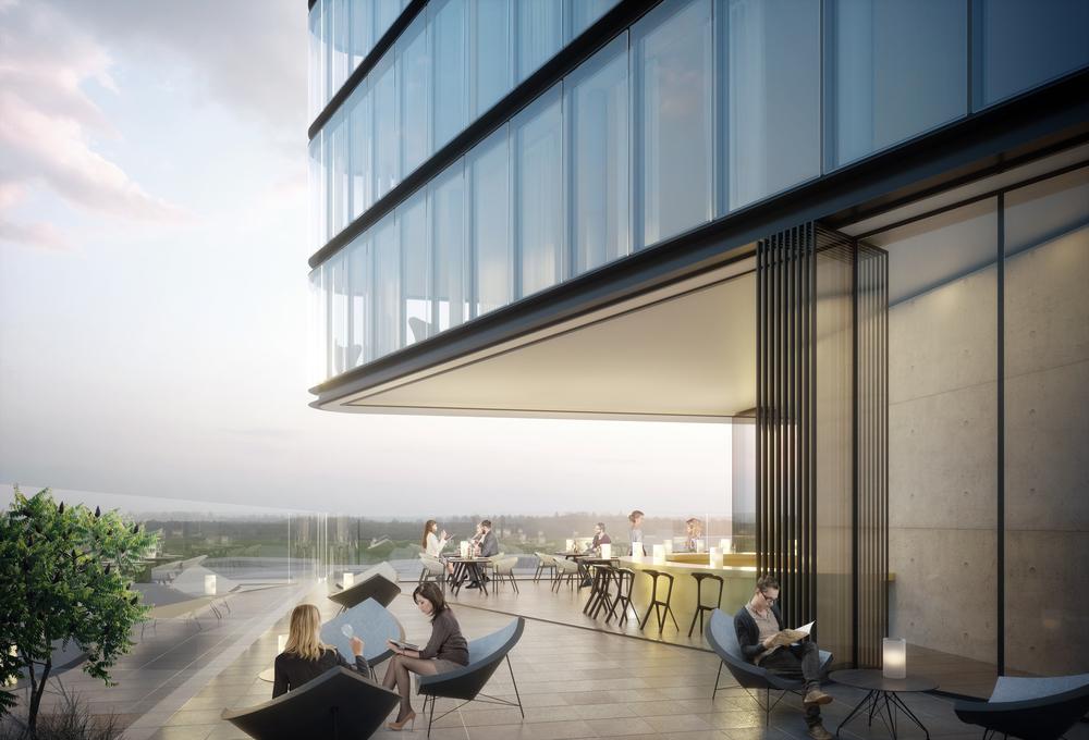 Der Porsche Design Tower wird das Stadtbild Stuttgarts bereichern