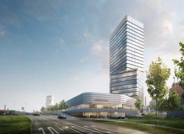 Porsche построит Design Tower и новый центр на Прагзаттель в Штуттгарте