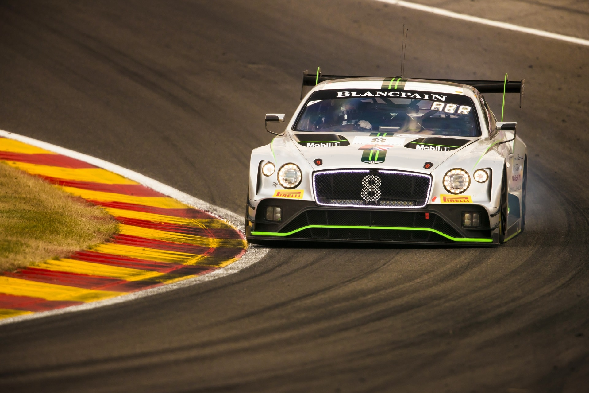 The Continental GT3 led at Spa 24 Hours