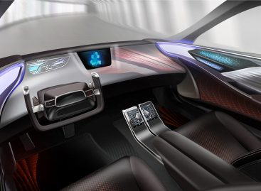 Toyota Boshoku представит интерьеры автомобилей будущего