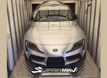 Первый экземпляр новой Toyota Supra выставят на аукцион