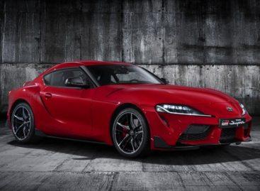 Случайно опубликованы фотографии новой Toyota Supra