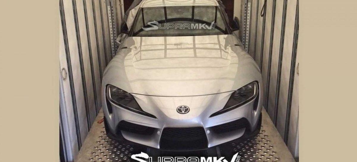 Новая Toyota Supra без камуфляжа