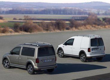 Стартует производство Volkswagen Caddy с бензиновыми двигателями для России