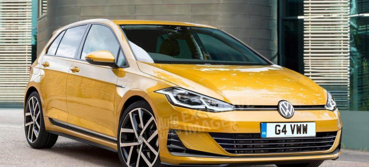 Показан эскиз нового Volkswagen Golf