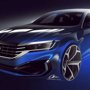 Анонсирован старт продаж рестайлингового Volkswagen Passat