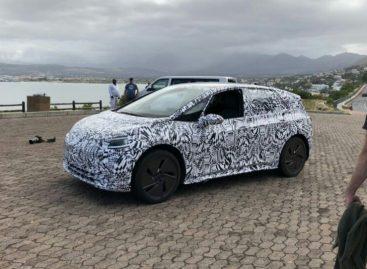 Volkswagen приступил к тестам электрокара