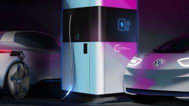 Создан прототип мобильной зарядной станции Volkswagen для электромобилей