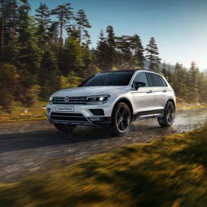 Расширен набор опций для Volkswagen Tiguan