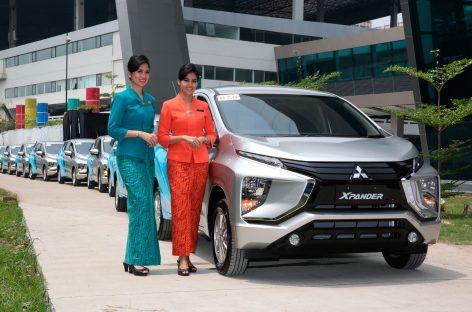 Национальный перевозчик Индонезии Garuda купил более 400 автомобилей Mitsubishi XPANDER
