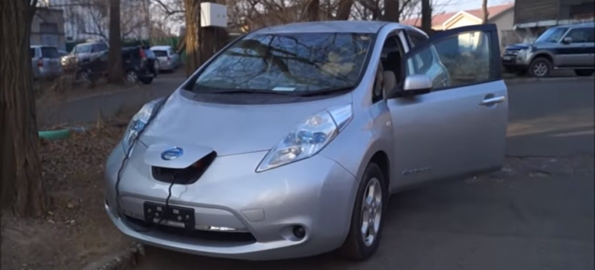 Nissan Leaf – пробег 200000 км, деградация батареи – 11%