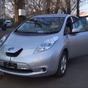 Nissan Leaf - пробег 200000 км, деградация батареи - 11%