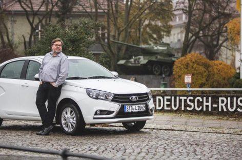 Корреспондент Die Welt протестировал Lada Vesta и  дал ей свою оценку