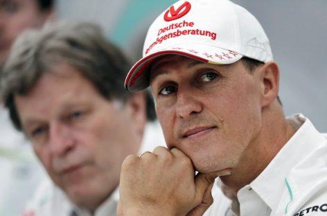 Михаэль Шумахер полетит в Даллас для прохождения курса реабилитации