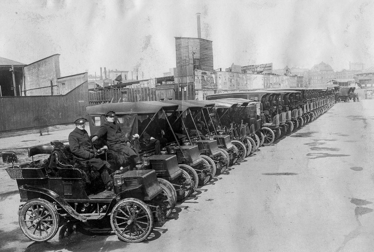 Электрокары начала 20 века