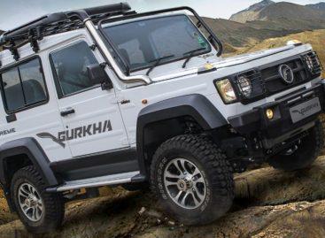 Force Motors представила экстремальную версию Force Gurkha Xtreme