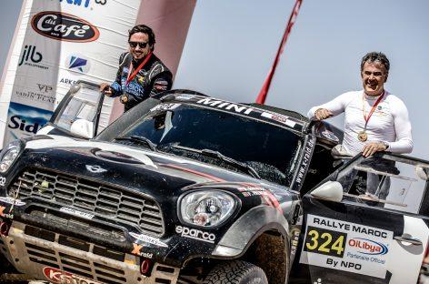 Пять автомобилей MINI John Cooper Works Rally выступят на ралли «Дакар-2019»
