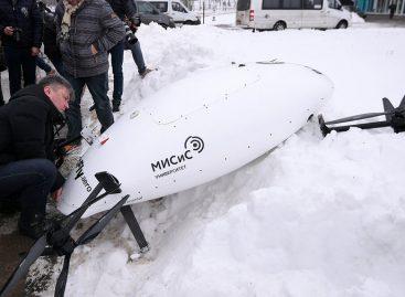 В Сколково уронили прототип аэротакси