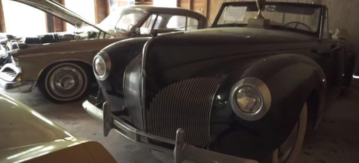 Найдено более сотни раритетных автомобилей в заброшенном гараже