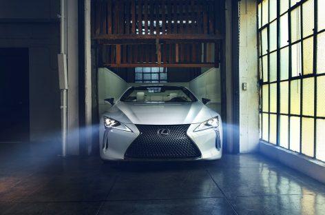 На фестивале скорости в Гудвуде состоится премьера прототипа Lexus LC Convertible
