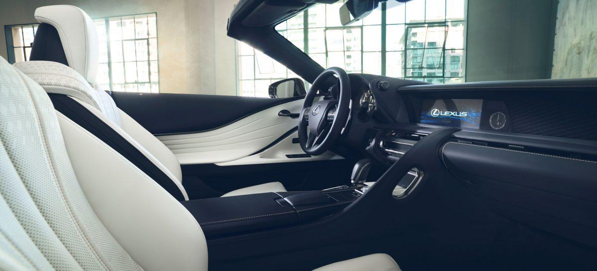 Концепт Lexus LC Convertible будет показан на автосалоне в Женеве