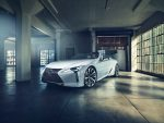 Концепт-кар Lexus LC Convertible будет представлен на автосалоне в Детройте
