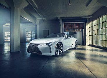Концепт Lexus LC Convertible: воплощение «совершенной красоты»