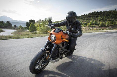Легендарный Harley-Davidson -теперь на электро тяге!