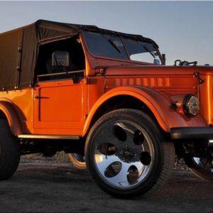 Уникальный ГАЗ-69 из Караганды