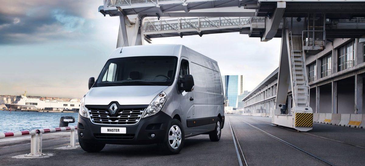 Доступны новые версии фургона Renault Master